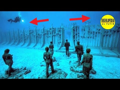 DITEMUKAN BARISAN DINDING MISTERIUS DI LAUT PAPUA ! Benarkah Itu Lokasi Dinding Ya'juj dan Ma'juj