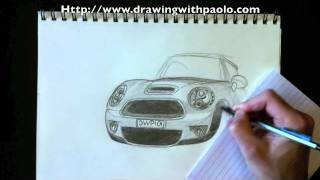 Drawing a Mini Cooper with Paolo Morrone
