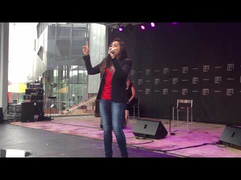 Jessica Mauboy - Who's Loving You ACAPELLA (Live @ Federation Square)