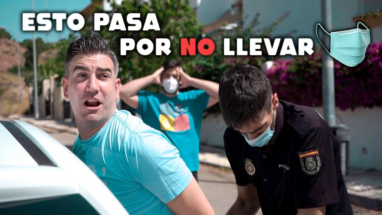 Sin Mascarilla NO!!!! (Parodia | Como Llora - Juanfran)