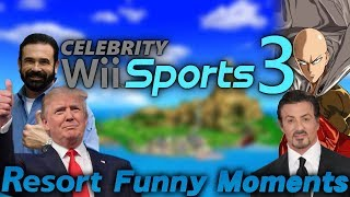Swordplay, Frisbee Golf, and More! Wii Sports Resort Funny Moments SUPERCUT!!