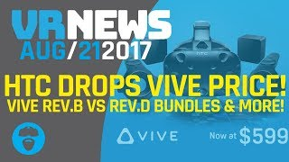 HTC DROPS VIVE PRICE BY $200! Doom VFR Behind the scenes information & More!