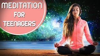 Meditation For Teenagers With Cosmos - Relaxing Meditation - Calming Music