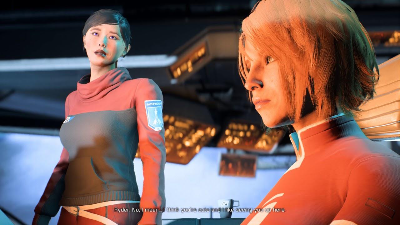 Mass Effect Andromeda Lesbian Romance