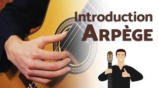 L'Arpège à la Guitare - Introduction (+ exercices)