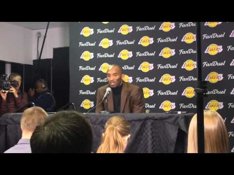 Kobe Bryant discusses history with Celtics before final trip to Boston