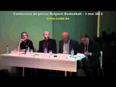 Belgian Lions - Belgian Cats : Conférence de presse en intégralité (3 mai 2012)