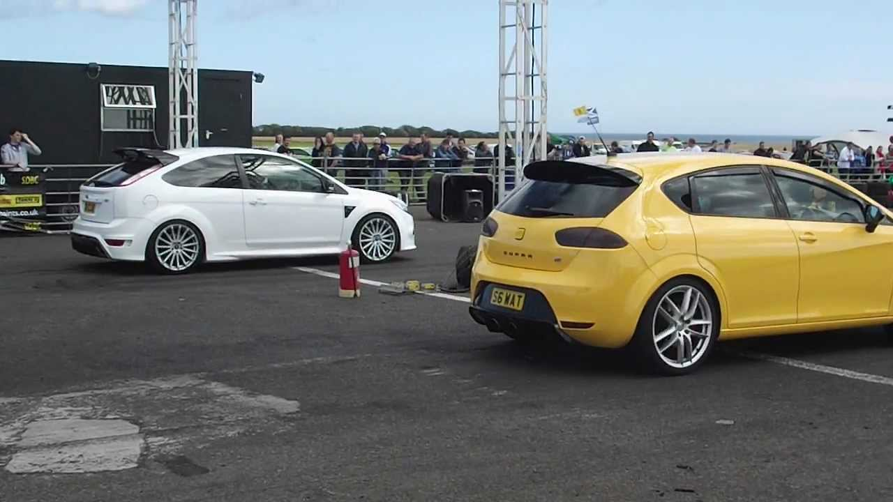 seat leon cupra r vs ford focus rs crail raceway 2 9 12 youtube. Black Bedroom Furniture Sets. Home Design Ideas