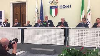 """Coni, Malagó: """"Roberto Fabbricini sarà il commissario straordinario della Figc"""""""