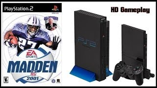 Madden NFL 2001 (PS2)(2000) Intro + Gameplay (HD) Titans V Rams