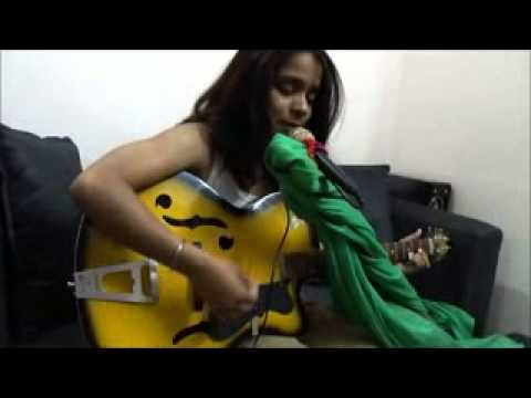 T Amo sung by Yatha Sharma with guitar