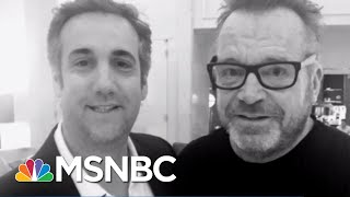 michael cohen still may flip… what tom arnold has to do with it the 11th hour msnbc