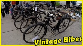 Old and Vintage Bikes Show 2018. Classic and Retro Motorcycles and Bikes Review 2018