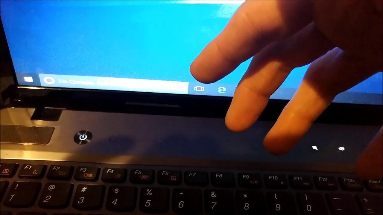 Lenovo Z570 Change Boot Order Enter Bios / UEFI (Z570-1024)