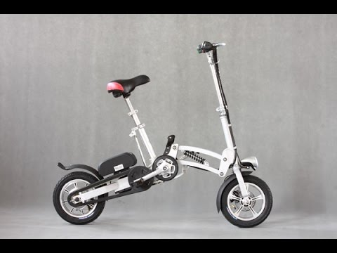 Foldable 350W Lithium Battery Electric Bike