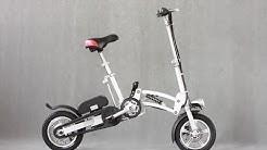 Foldable 350W Lithium Battery Electric Bike
