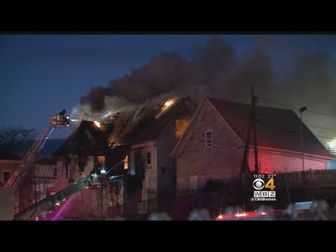2 Firefighters Injured Battling Large Blaze In Worcester Mp3