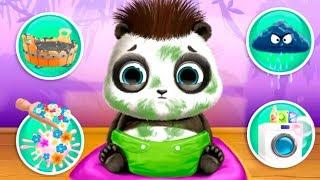Ухаживаем за милый малыш Крошка панда Катя обкакалась Смешное видео для детей БЭБИ БОСС Baby Panda