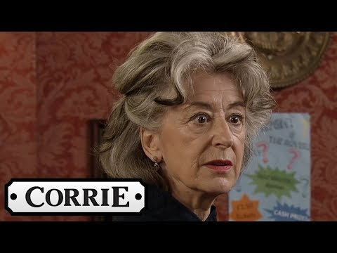 Evelyn's Illegal Betting Is Exposed | Coronation Street