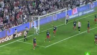 Athletic de Bilbao 1 - Atletico de Madrid 4 Hat-Trick de Forlan