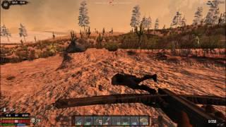 7 Days to Die ValMod Overhaul  С 12 песок, цемент, мини Орда, шахта начало