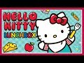 Hello Kitty Lunch Box  - Baby Learn Cooking Yummy Food - Kids Cooking Games
