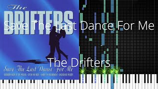 🎹 Save The Last Dance For Me, The Drifters, Synthesia Piano Tutorial