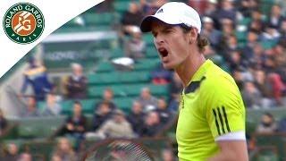 Andy Murray v Gaël Monfils Highlights - Men