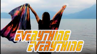 Worship Swing Flags Dance // Everything Everything by Elevation Rhythm // ft Claire CALLED TO FLAG