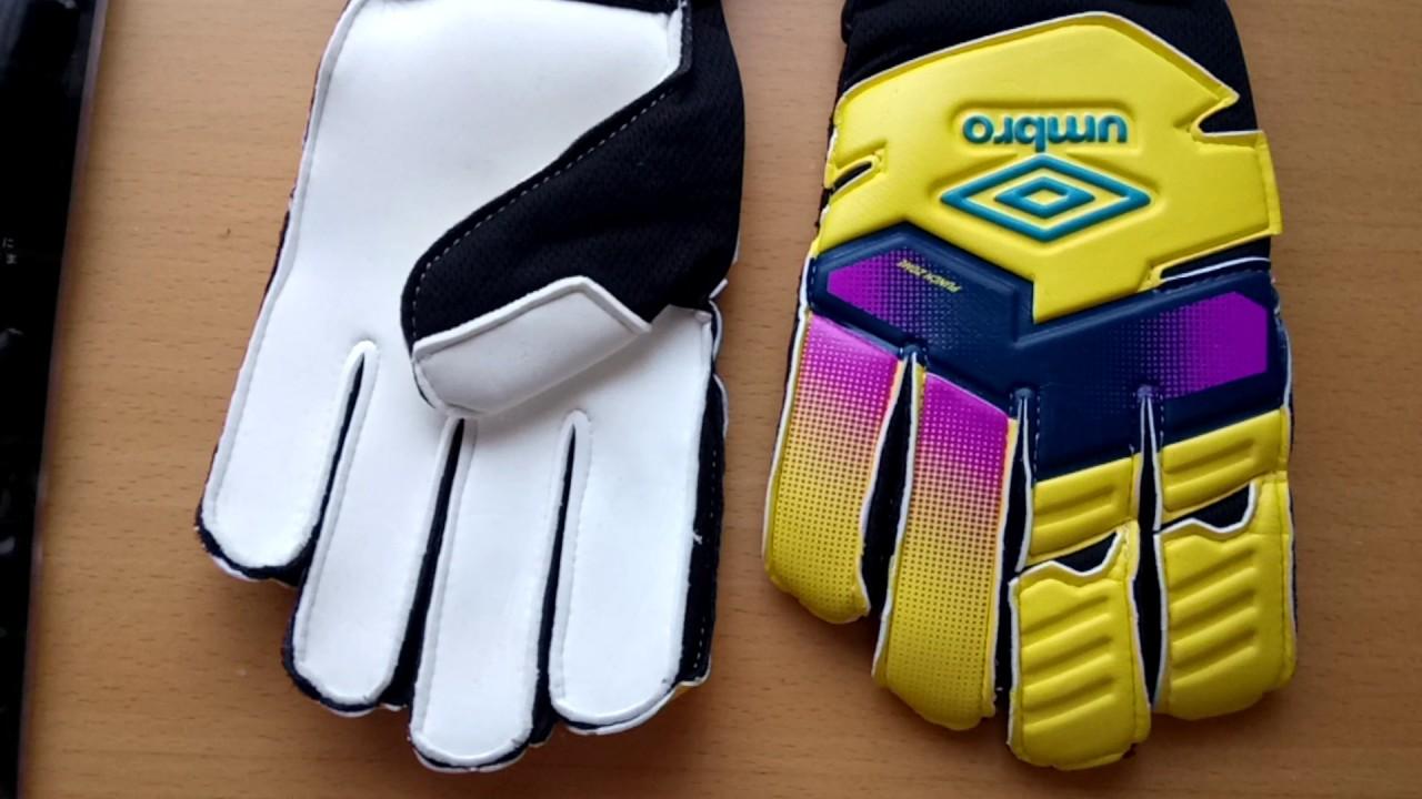 Nové brankářské rukavice UMBRO - YouTube e611c9b340