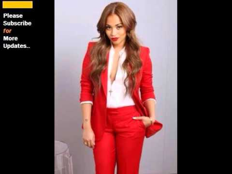 Red - Skirt Suits | Suit Sets: Clothing In Red Romance - YouTube