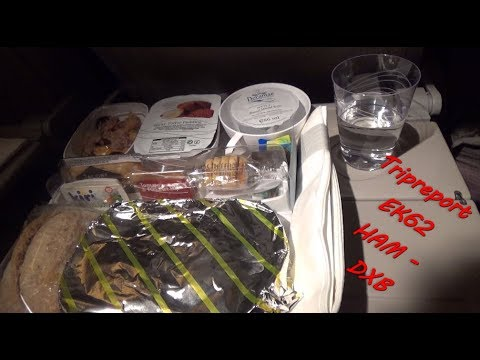 Tripreport Emirates Economy B777-300ER EK62 Hamburg-Dubai || A6-EBB