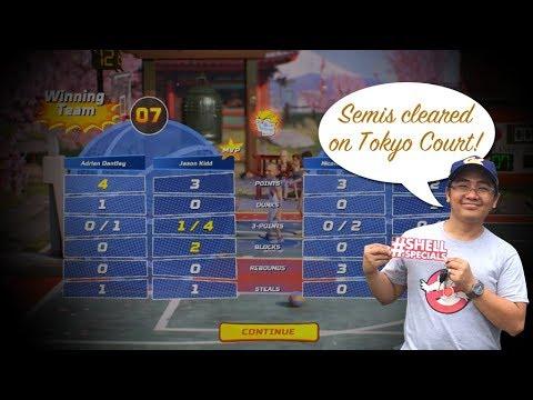 NBA Playgrounds - Winning the Semis on Tokyo Court