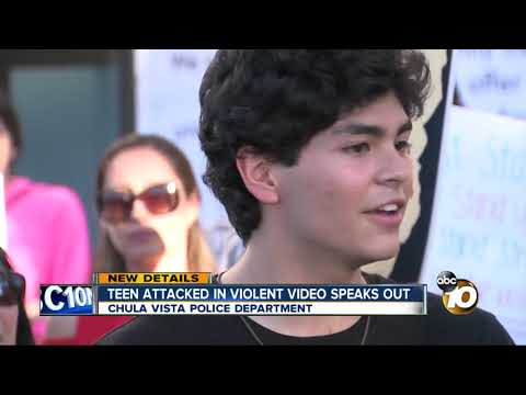 MORNING NEWS - Teen Attacked In Violent Video Speaks Out