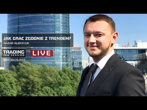 Jak grac zgodnie z trendem?, Nazar Aleksyuk, #84 Trading Jam Session 08.09.2017