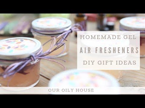 Homemade Gel Air Fresheners | DIY Gift Ideas