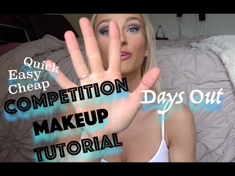 Competition Makeup Tutorial | 5 Days Out