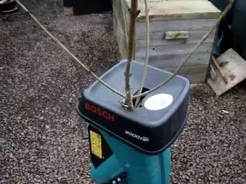 how to replace the blade in a bosch garden shredder doovi. Black Bedroom Furniture Sets. Home Design Ideas