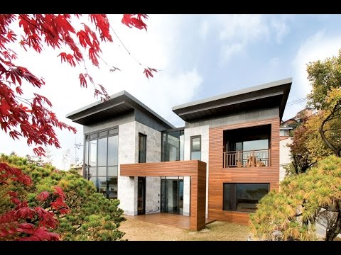 Modern House with Floorplan in Korea : P House by Hahn Design - YouTube