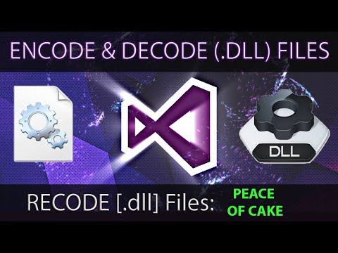 How To RECODE (.dll) File | Edit Premade Dll Files Using Dotpeek | Encoding, Decoding