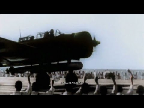 1941 Pearl Harbor - New Japanese Footage! HD