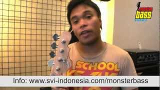 Monster Bass Competition - Barry Likumahuwa & Wima J-Rocks