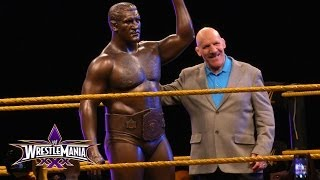 Bruno Sammartino statue revealed at WrestleMania Axxess