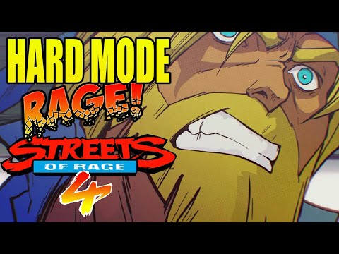 Streets Of Rage 4 - HARD MODE ANGER! (#1)