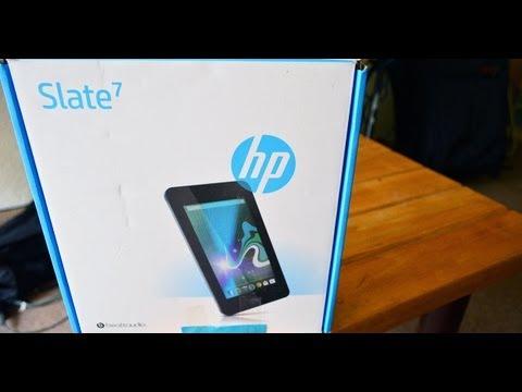 HP Slate 7 - Unboxing en Español HD