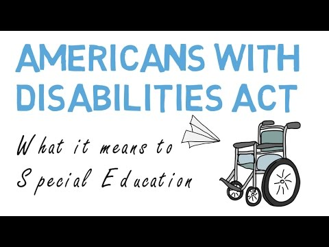Americans with Disabilities Act in Special Education
