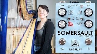 Somersault Lo-Fi Modulator Pedal Demo on Harp