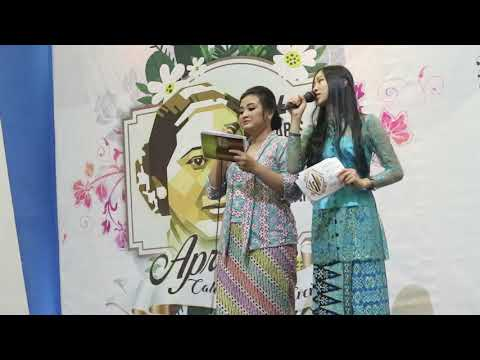 PENGARAHAN JOB MC EVENT KARTINI DAYS @EAST COST SURABAYA - MURID ARTV SCHOOL SEKOLAH MC SURABAYA