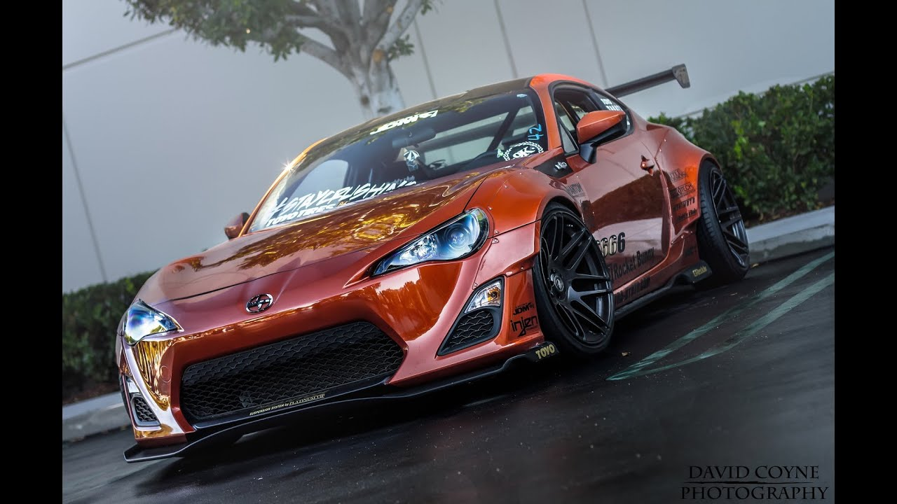 Toyota In Irvine >> MODDED Scion FR-S at Cars and Coffee SPORTS CAR Event! - YouTube