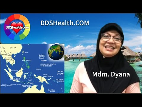 DDS Bio Health Therapy Testimonial by Mdm. Dyana a Filipina residing in Brunei